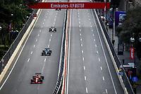 6th June 2021; F1 Grand Prix of Azerbaijan, Race Day;  55 SAINZ Carlos (spa), Scuderia Ferrari SF21 during the Formula 1 Azerbaijan Grand Prix 2021 at the Baku City Circuit