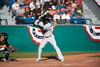 Visalia Rawhide right fielder Anfernee Grier (10) during a California League game against the San Jose Giants on April 13, 2019 at San Jose Municipal Stadium in San Jose, California. Visalia defeated San Jose 4-2. (Zachary Lucy/Four Seam Images)