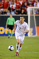 Heath Pearce (2) of the United States (USA). The United States (USA) defeated Panama (PAN) 2-1 during a quarterfinal match of the CONCACAF Gold Cup at Lincoln Financial Field in Philadelphia, PA, on July 18, 2009.