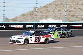 #20: Harrison Burton, Joe Gibbs Racing, Toyota Supra DEX Imaging, #10: Ross Chastain, Kaulig Racing, Chevrolet Camaro Nutrien Ag Solutions