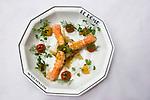 Appetizer, Shrimp, Le Dome Restaurant, Paris, France, Europe