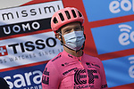 EF Education-Nippo arrive sign on before the start of the 112th edition of Milan-San Remo 2021, running 299km from Milan to San Remo, Italy. 20th March 2021. <br /> Photo: LaPresse/Fabio Ferrari | Cyclefile<br /> <br /> All photos usage must carry mandatory copyright credit (© Cyclefile | LaPresse/Fabio Ferrari)