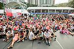 HSBC Sevens Village during the HSBC Hong Kong Rugby Sevens 2017 on 08 April 2017 in Hong Kong Stadium, Hong Kong, China. Photo by King Chung Fung / Power Sport Images