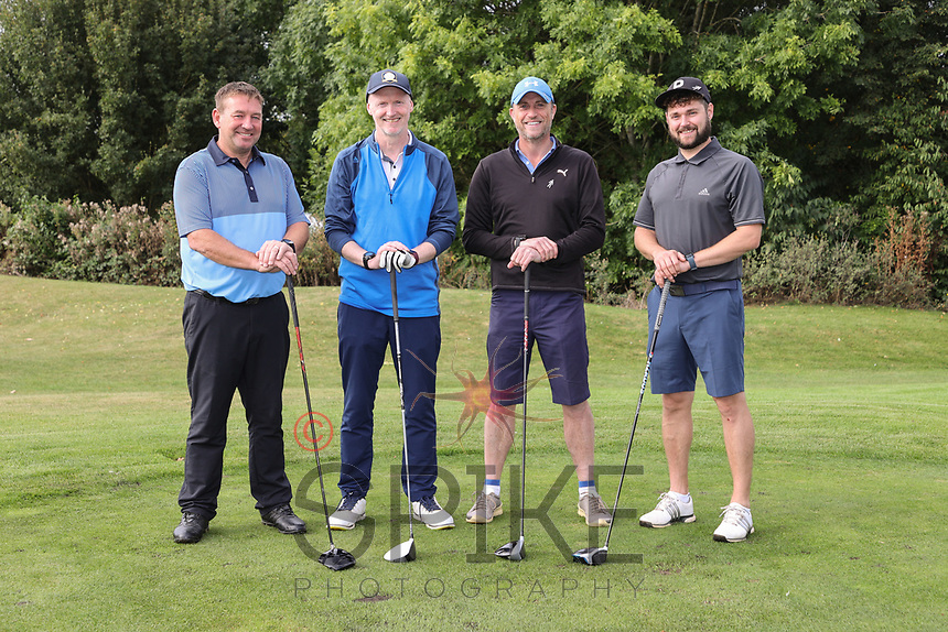 Pictured from left are the nmcn team: Patrick Mooly, Nick Banks, Nick Clews and Jason Allum