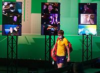 Rotterdam, The Netherlands, 4 march  2021, ABNAMRO World Tennis Tournament, Ahoy, Second round match: David Goffin (BEL).<br /> Photo: www.tennisimages.com/henkkoster