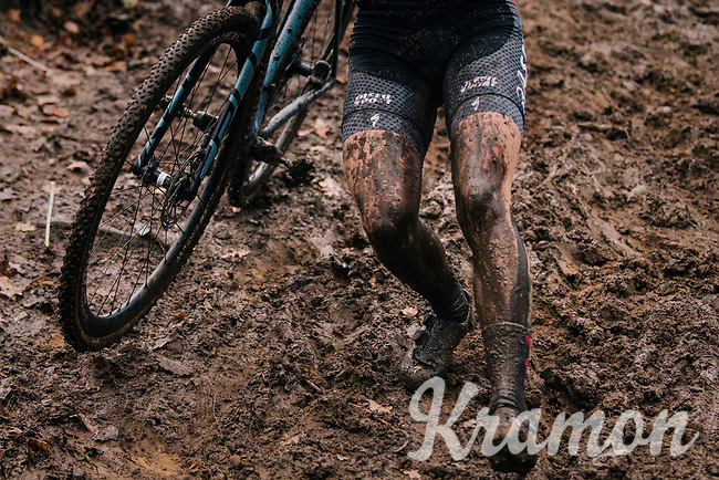 mudfest galore<br /> <br /> Women's race at the X2O Herentals Cross 2020 (BEL)<br /> <br /> ©kramon