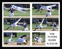 Boys Baseball against Peoria Christian 4/12/16