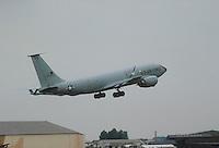 - tanker KC 135 in the USA air force base of Fairford<br /> <br /> - aerocisterna KC 135 nella base aerea USA di Fairford