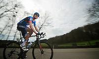 48th Amstel Gold Race 2013..race leader Johan Vansummeren (BEL)
