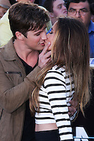 """WESTWOOD, LOS ANGELES, CA, USA - MARCH 18: Matt Lanter, Angela Stacy at the World Premiere Of Summit Entertainment's """"Divergent"""" held at the Regency Bruin Theatre on March 18, 2014 in Westwood, Los Angeles, California, United States. (Photo by David Acosta/Celebrity Monitor)"""
