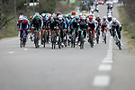Jasha Sutterlin (GER) Team DSM goes for the intermediate sprint during Stage 5 of Paris-Nice 2021, running 200km from Vienne to Bollene, France. 11th March 2021.<br /> Picture: ASO/Fabien Boukla   Cyclefile<br /> <br /> All photos usage must carry mandatory copyright credit (© Cyclefile   ASO/Fabien Boukla)