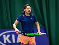 Wateringen, The Netherlands, December 4,  2019, De Rhijenhof , NOJK 14 and18 years,  Feline Eijkelenburg (NED)<br /> Photo: www.tennisimages.com/Henk Koster