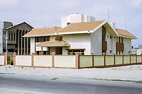 Kuwait March 1972.  New House Constructed in a Modern Style Admired in the 1970s.