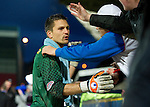 St Johnstone v Hamilton Accies...10.05.11.Tomas Cerny goes to the fans at full time.Picture by Graeme Hart..Copyright Perthshire Picture Agency.Tel: 01738 623350  Mobile: 07990 594431