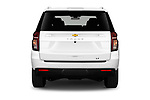 Straight rear view of 2021 Chevrolet Tahoe LT 5 Door SUV Rear View  stock images