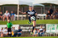 Sky Blue FC midfielder Manya Makoski (22). Sky Blue FC and the Portland Thorns played to a 0-0 tie during a National Women's Soccer League (NWSL) match at Yurcak Field in Piscataway, NJ, on June 22, 2013.