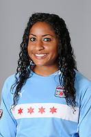 2009 Chicago Red Stars Head Shots..Chioma Igwe