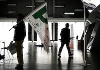 Torino 12-04-2014 PalaIsozaki <br /> Apertura Campagna elettorale elezioni europee Partito Democratico <br /> Opening European elections campaign of the Democratic Party<br /> Foto Giorgio Perottino / Insidefoto