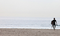 SANTA MONICA-ESTADOS UNIDOS. Las playas de Santa Monica son unos de los atractivos turisticos de esta ciudad del condado de Los Angeles.  Photo: VizzorImage