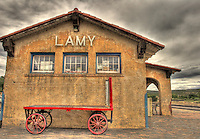 Lamy Train Station in Lamy, New Mexico