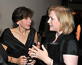 Washington, D.C. - May 9, 2009 -- Randi Weingarten, President, American Federation of Teachers, left, and United States Senator Kirsten Gillibrand (Democrat of New York), right, share conversation as they attends one of the parties prior to the White House Correspondents Dinner in Washington, D.C. on Saturday, May 9, 2009..Credit: Ron Sachs / CNP.(RESTRICTION: NO New York or New Jersey Newspapers or newspapers within a 75 mile radius of New York City)