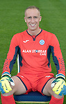 St Johnstone FC Season 2017-18 Photocall<br />Mark Hurst<br />Picture by Graeme Hart.<br />Copyright Perthshire Picture Agency<br />Tel: 01738 623350  Mobile: 07990 594431