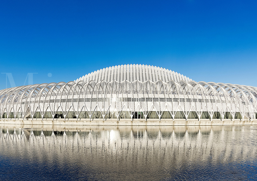 Innovation, Science and Technology building at Florida Polytechnic University, Lakeland, Florida, USA