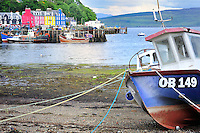 SC - INNER HEBRIDES - ISLAND of MULL<br /> Island capital Tobermory on the Sound of Mull<br /> <br /> Full size: 69,3 MB<br /> <br /> l