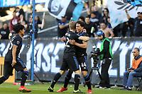 San Jose, CA - Saturday March 23, 2019: A friendly match between the San Jose Earthquakes and C.F. Monterrey at Avaya Stadium.