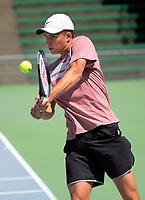 2019 Wellington Tennis Open at Renouf Centre in Wellington, New Zealand on Thursday, 19 December 2019. Photo: Dave Lintott / lintottphoto.co.nz