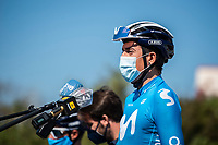 24th March 2021; Castelldefels, Catalonia, Spain; Volta Catalunya Cycling Tour stage 3 from Canal Olimpic de Catalunya to Vallter 2000; Marc SOLER of Movistar TEAM