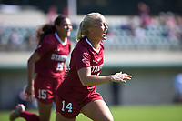 STANFORD, CA - October 21, 2018: Civana Kuhlmann at Laird Q. Cagan Stadium. No. 1 Stanford Cardinal defeated No. 15 Colorado Buffaloes 7-0 on Senior Day.