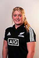 Luka Connor. New Zealand Black Ferns headshots at The Rugby Institute, Palmerston North, New Zealand on Thursday, 28 May 2015. Photo: Dave Lintott / lintottphoto.co.nz