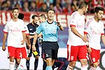 Italian referee Gianluca Rocchi have words with SL Benfica's players during Champions League 2015/2016 match. September 30,2015. (ALTERPHOTOS/Acero)