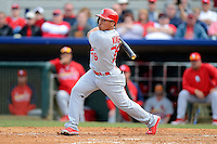 St. Louis Cardinals second baseman Kolten Wong #79 during a Spring Training game against the Houston Astros at Osceola County Stadium on March 1, 2013 in Kissimmee, Florida.  The game ended in a tie at 8-8.  (Mike Janes/Four Seam Images)