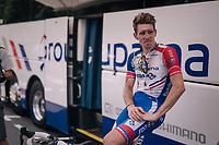 Arnaud Démare (FRA/Groupama-FDJ) after the stage<br /> <br /> Stage 9: Arras Citadelle > Roubaix (154km)<br /> <br /> 105th Tour de France 2018<br /> ©kramon