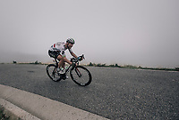 Steve Cummings (GBR/Dimension Data) down the Port de Balès (HC/1755m/11.7km/7.7%)<br /> <br /> 104th Tour de France 2017<br /> Stage 12 - Pau › Peyragudes (214km)