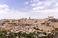 Toledo from across Rio Tajo, Spain