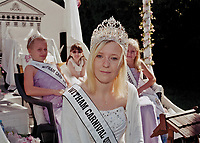 """Queen of Witham, Amy Chesson, Honorary Princess Ella Barden, Princess Cailey Hackett, and Princess Caitlyn Shaw.<br /> <br /> """"Majorettes, dance troupes and Brightlingsea Church Lads and Girlsí Brigade were also among the procession which took an hour to get around the town and back to the recreation ground."""""""