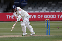 Will Young in batting action for Durham during Essex CCC vs Durham CCC, LV Insurance County Championship Group 1 Cricket at The Cloudfm County Ground on 15th April 2021
