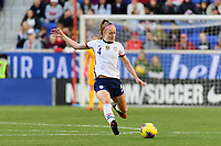 HARRISON, NJ - MARCH 08: Becky Sauerbrunn #4 of the United States during a game between Spain and USWNT at Red Bull Arena on March 08, 2020 in Harrison, New Jersey.