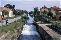 Zibido San Giacomo (Milano), Naviglio Pavese, conca di Moirago
