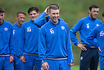 St Johnstone Training…22.07.16<br />David Wotherspoon pictured during training this morning at McDiarmid Park ahead of tomorrows Betfred Cup game against Falkirk.<br />Picture by Graeme Hart.<br />Copyright Perthshire Picture Agency<br />Tel: 01738 623350  Mobile: 07990 594431