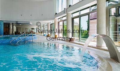 Croatia, Kvarner Gulf, Opatija: at Thalasso Wellness Centar Opatija, indoor-swimming-pool   Kroatien, Kvarner Bucht, Opatija: im Thalasso Wellness Centar Opatija, der indoor-swimming-pool
