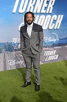"LOS ANGELES - JUL 15:  Brandon Jay McLaren at Disney+ ""Turner & Hooch"" Premiere Event at Westfield Century City Mall on July 15, 2021 in Century City, CA"