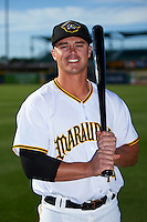 Bradenton Marauders second baseman Kevin Kramer (14) poses for a photo before a game against the Fort Myers Miracle on April 9, 2016 at McKechnie Field in Bradenton, Florida.  Fort Myers defeated Bradenton 5-1.  (Mike Janes/Four Seam Images)