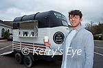 Patrick Courtney Killarney with his new coffee horsebox café