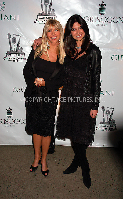 WWW.ACEPIXS.COM . . . . . ....NEW YORK, MARCH 15, 2005....Lisa and Brittny Gastineau at the kick off of the 2005 Cipriani Wall Street Concert Series with Rod Stewart performing at Cipriani Wall Street.....Please byline: KRISTIN CALLAHAN - ACE PICTURES.. . . . . . ..Ace Pictures, Inc:  ..Philip Vaughan (646) 769-0430..e-mail: info@acepixs.com..web: http://www.acepixs.com