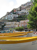 Yellow Boats, Positano