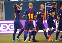 Barcelona FC vs Juventus, July 22, 2017
